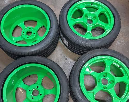 Rim straightening, alloy wheel buckle repairs East Anglia based.